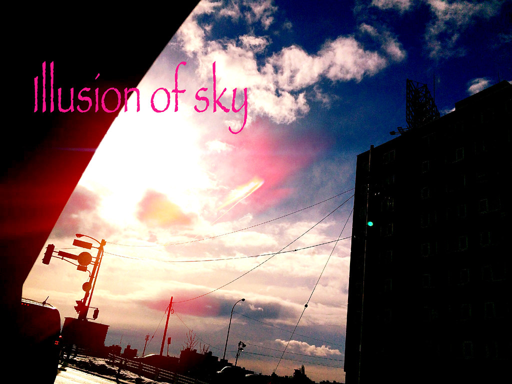 illusion of sky