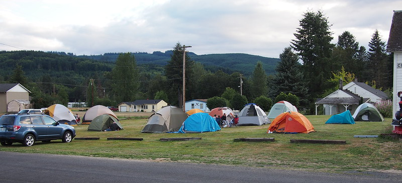Camping in Vader