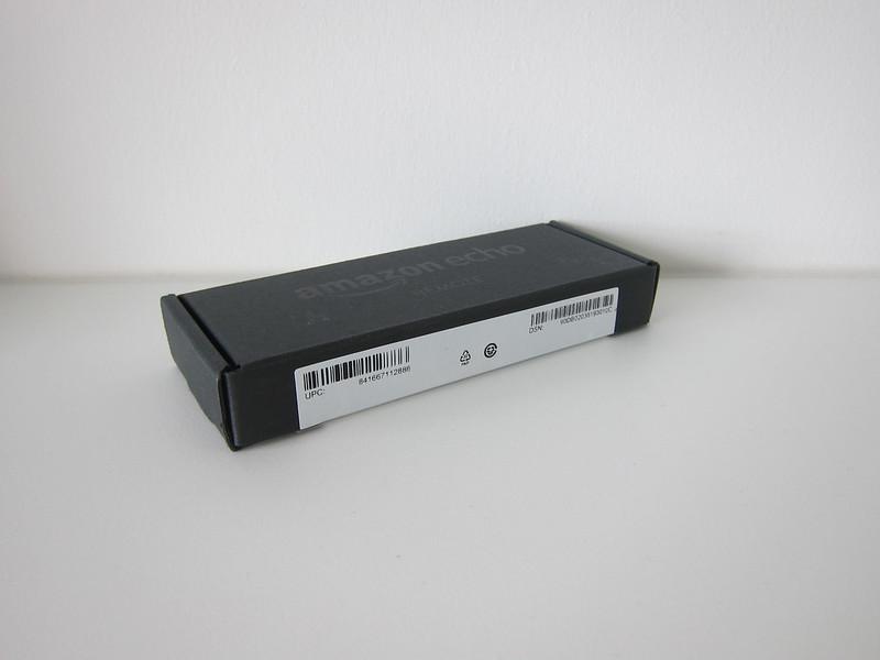 Amazon Echo Voice Remote- Box