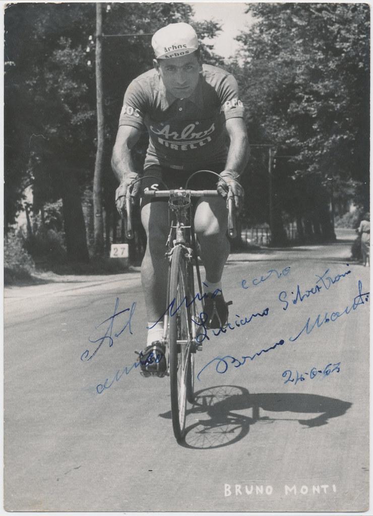 Foto Monti Bruno con dedica al Maresciallo dei Carabinieri Luciano Silvestroni