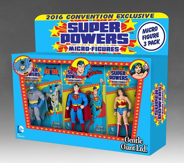 史上最小的超級英雄收藏系列!Gentle Giant DC Super Powers Micro Figure