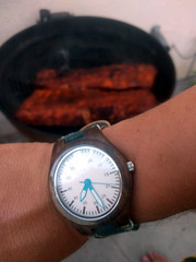 Dry rub ribs and birthday watch, Burbank, Californ…