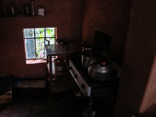 Lac Titicaca: la cuisine au gaz sur l'île d'Amantani