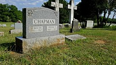 Marker for M. Maude and Frank S. Chapman