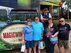 On the Magic Winebus in Wolfville, NS