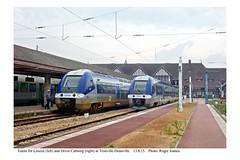 Trouville-Deauville. Trains for Lisieux and Dives-Cabourg. 13.8.15 - Photo of Pont-l'Évêque