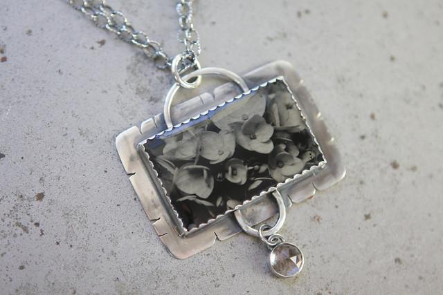 Hydrangea In Silver