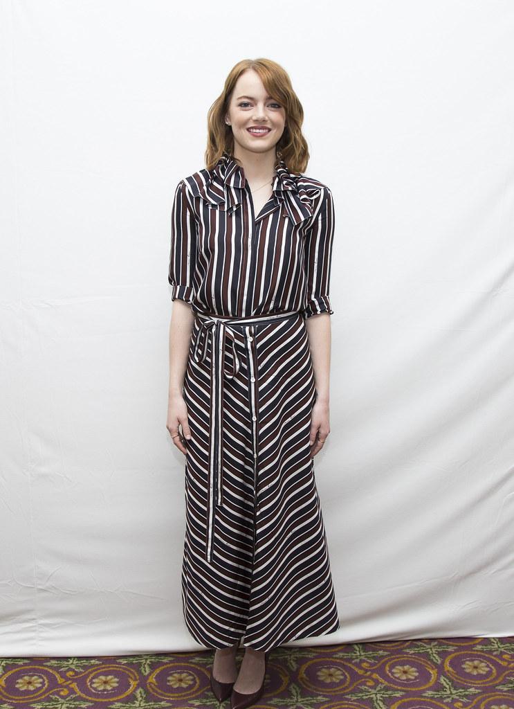 Эмма Стоун — Пресс-конференция «Ла-Ла Ленд» на «TIFF» 2016 – 33