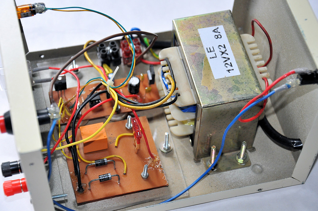 Automatic Car Battery Charger Prototype