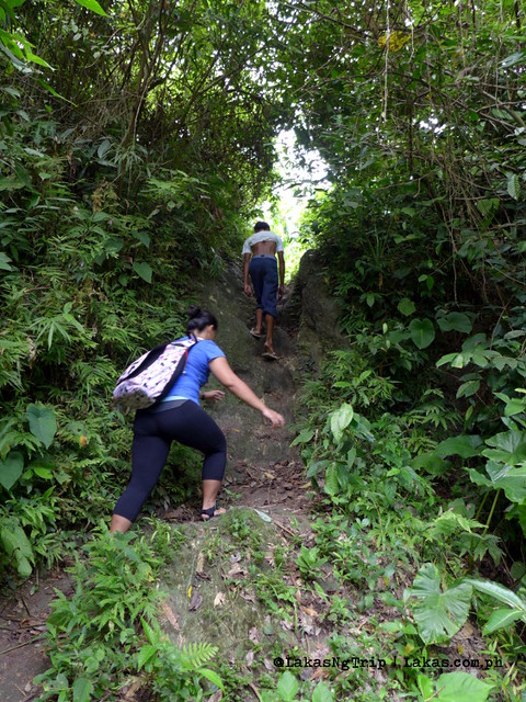Hiking to Dalipuga Falls in Iligan City, Philippines
