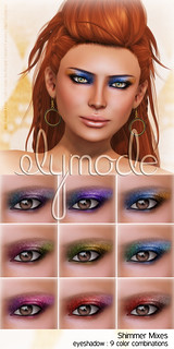 shimmer mix shadows