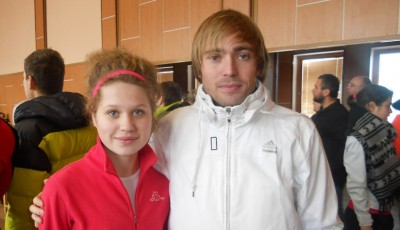 S čerstvým prašanem v Petrovicích si nejlépe poradili Kocourek a Zádrapová