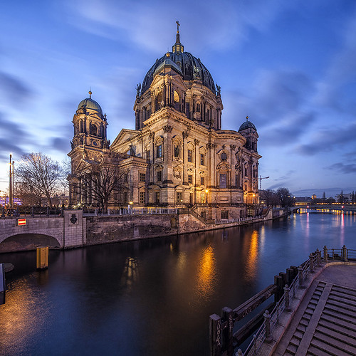 berlin architecture river germany deutschland cathedral god dom faith religion spree berliner