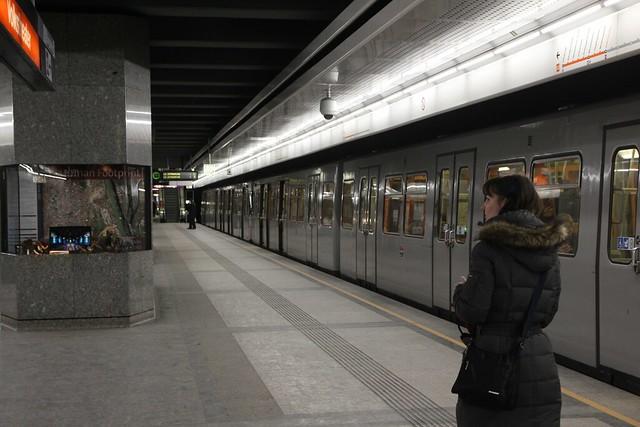 135 - En el metro