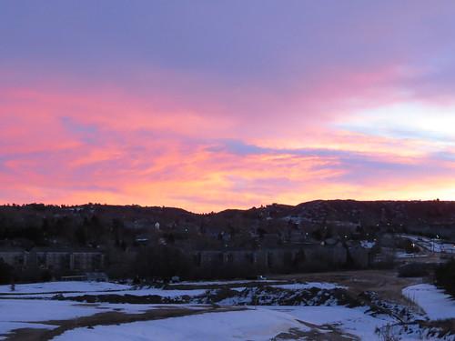 sunrise colorado castlerockcolorado