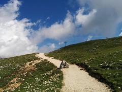 Gipfelkreuz Strudelkopf in Sicht