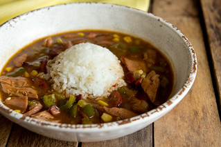 Turkey Chipotle Gumbo