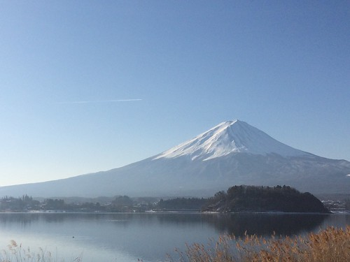富士山とハンバーグ