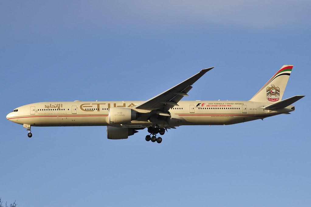 A6-ETG - B77W - Etihad Airways