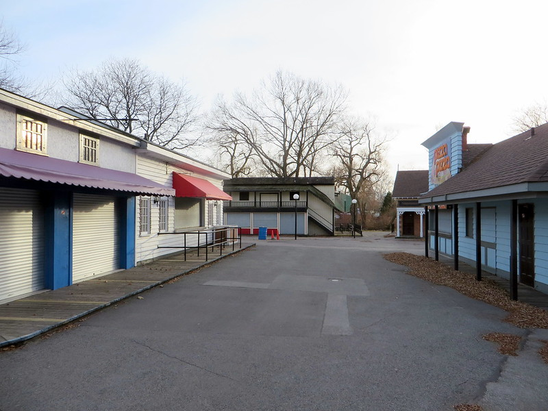 Centreville amusement park, off-season