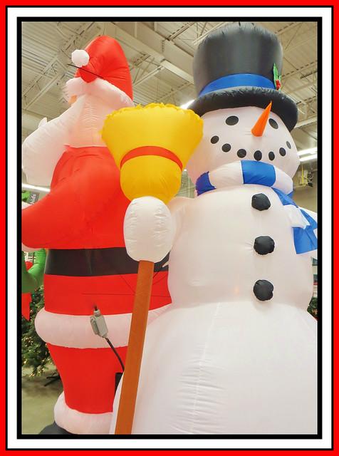 Santa & Frosty The Snowman