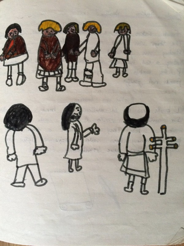 Saxons from my old school book