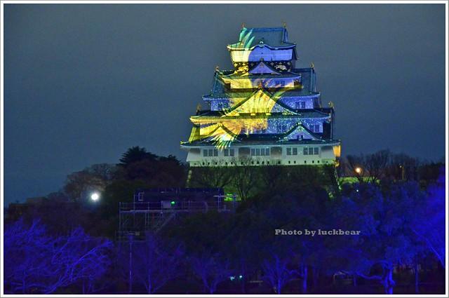 大阪城3D燈光秀2015014-DSC_3927