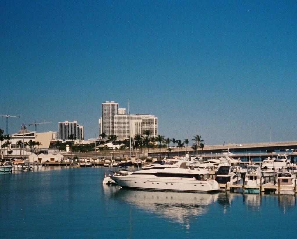 Bayside Miami. vivitar, 700, 110, camera, expired, 2010, kodak, 400, film, bayside, miami, downtown, florida, marketplace. buy photo