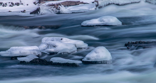 longexposure winter ice river geotagged nikon unitedstates indiana mishawaka stjosephriver nikond5300