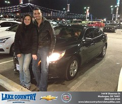 #HappyBirthday to Victor Azuela from Kimberly Folkner at Lake Country Chevrolet Cadillac!