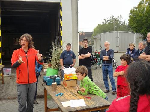Uitleg van Joeri Cortens, van Natuurpunt Mechelen