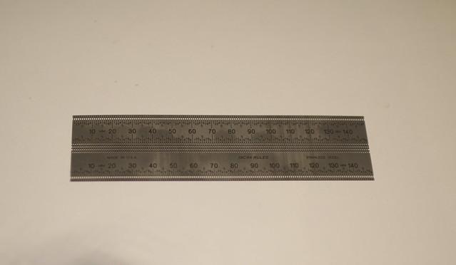 Incra ruler.