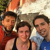 Julio, training for his fourth Mexico City marathon, says this is a terrible picture for our run club because it doesn't feature any cars or tráfico #fromwhereirun