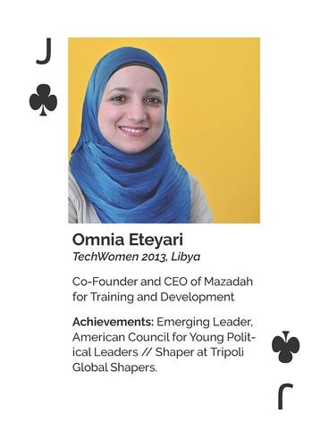 TechWomen Omnia Eteyari (2013-Libya)