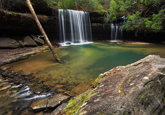 Upper Caney Creek Falls