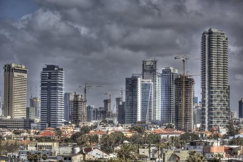 Tel Aviv, new behind old...