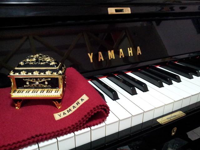 台中霧峰林小姐 -YAMAHA U.P(日本原裝3號豪華型米字琴)