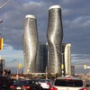 Absolute Towers (aka Marilyn Monroe Skyscrapers), Mississauga, Ontario, Canada