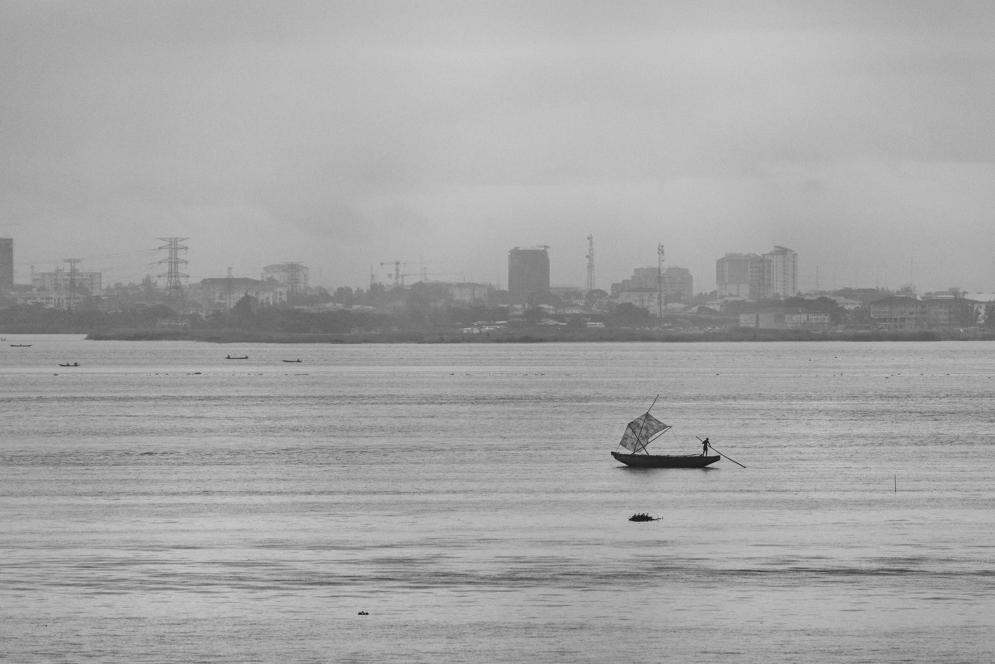 Sand Collector in Lagos Lagoon