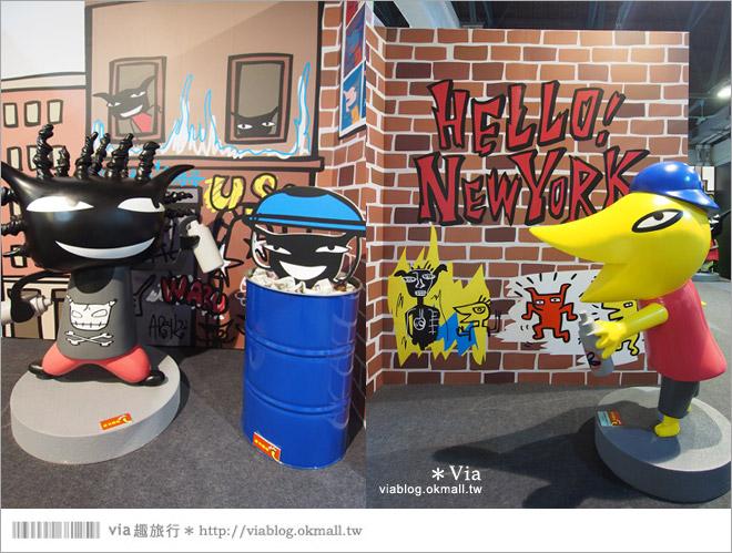 【阿朗基愛旅行】台北華山藝文特區阿朗基展~跟著阿朗基一起環遊世界去!29