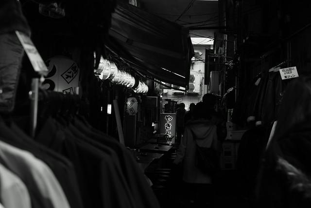 アメ横 Ameyoko street, Ueno Tokyo, 01 Jan 2015. 058