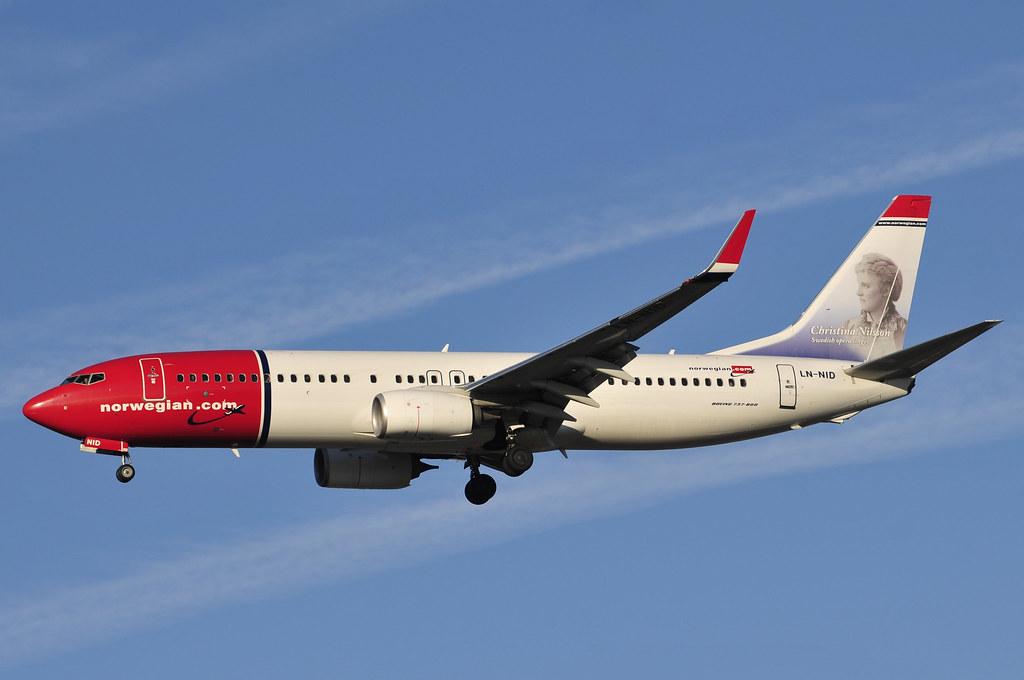 LN-NID - B738 - Norwegian