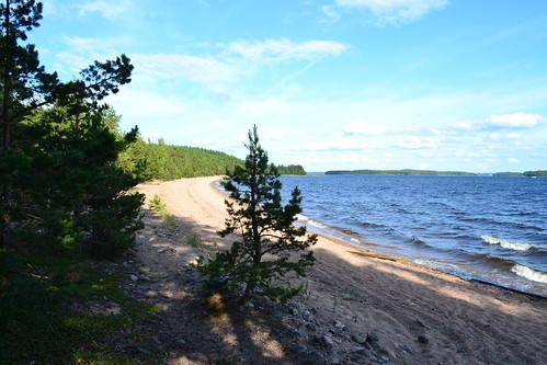 summer lake beach june finland geotagged shore es fin taipalsaari saimaa 2011 eteläsavo 201106 eteläkarjala kattelussaari 20110622 päihäniemi satamahiekka rv111 geo:lat=6117149000 geo:lon=2836756000