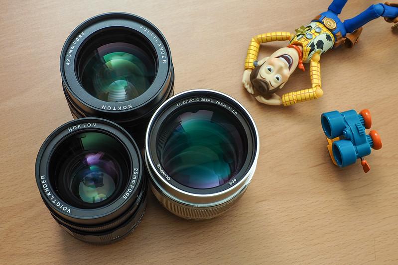 I love Prime lens.|Voigtlander