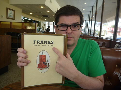 Frank's Coffee Shop Burbank CA - Keith Valcourt 2014
