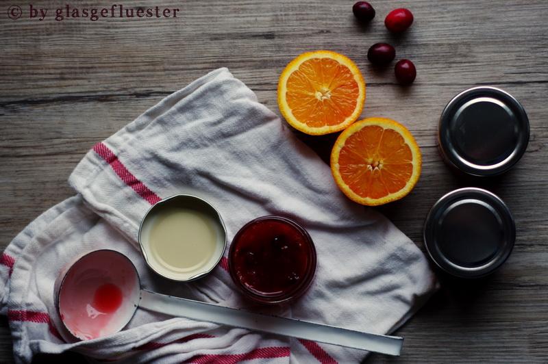 Blutorangen Cranberry Marmelade by Glasgeflüster 2 klein