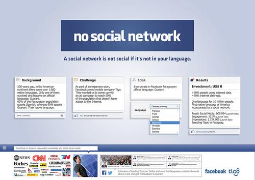 F13-001 00657 NO SOCIAL NETWORK