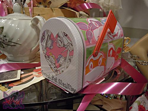 "TIN BOX Co. :: ""TEENAGE MUTANT NINJA TURTLES"" Retro Style Mailbox Tin ii (( 2015 ))"