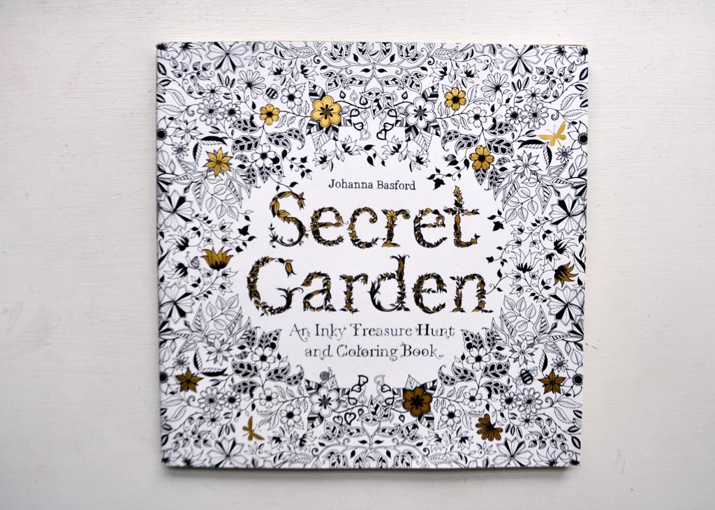 Secret Garden An Inky Treasure Hunt And Coloring Book Johanna Basford