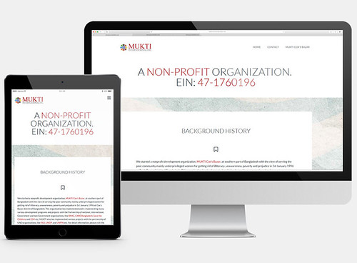 Responsive Website Design for Mukti International Inc